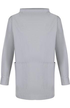 Хлопковая рубашка свободного кроя | Фото №1