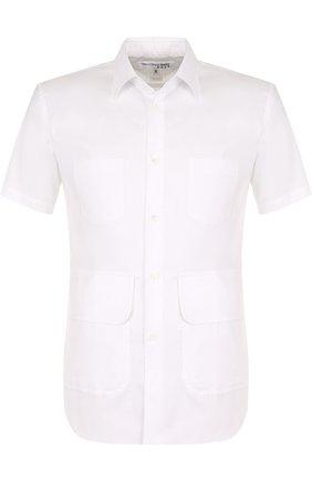 Хлопковая рубашка с короткими рукавами | Фото №1