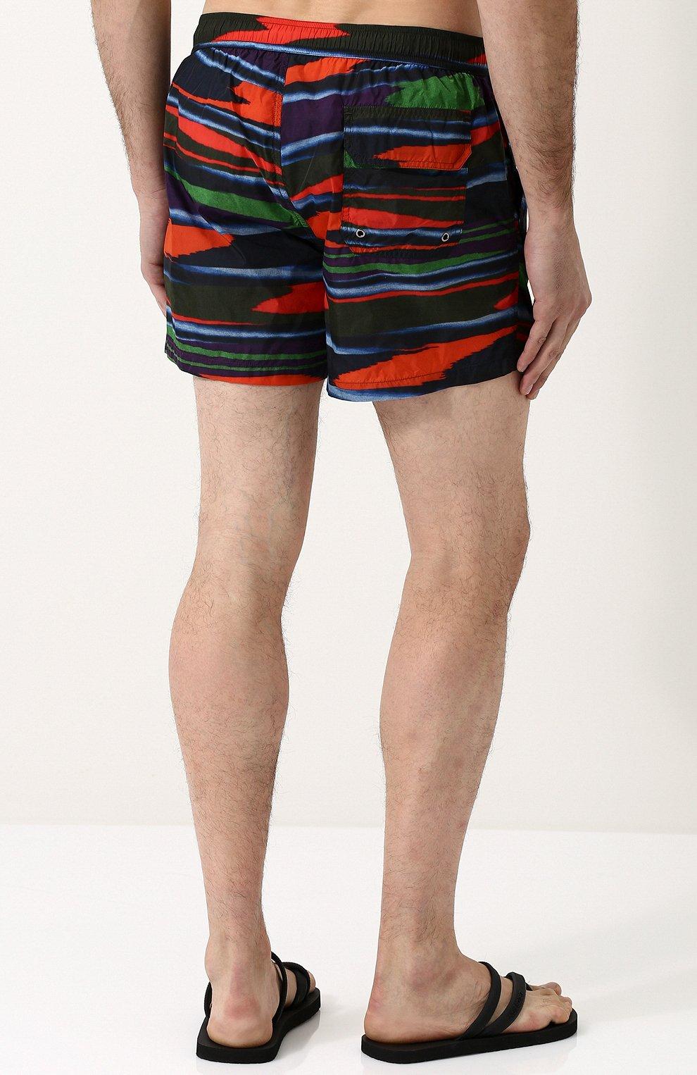 Плавки-шорты с принтом   Фото №4