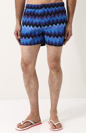 Плавки-шорты с принтом   Фото №3