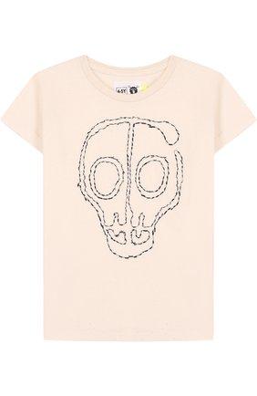 Хлопковая рубашка с вышивкой | Фото №1
