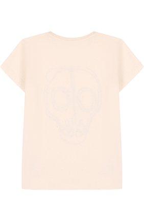 Хлопковая рубашка с вышивкой | Фото №2