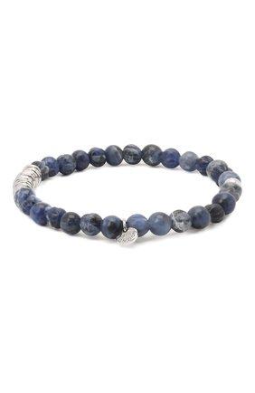 Мужской браслет с серебряной отделкой TATEOSSIAN синего цвета, арт. BL1043 | Фото 2