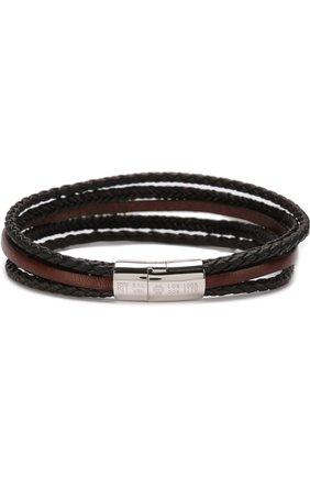 Мужской кожаный браслет TATEOSSIAN разноцветного цвета, арт. BL7786 | Фото 1 (Материал: Кожа; Статус проверки: Проверена категория)
