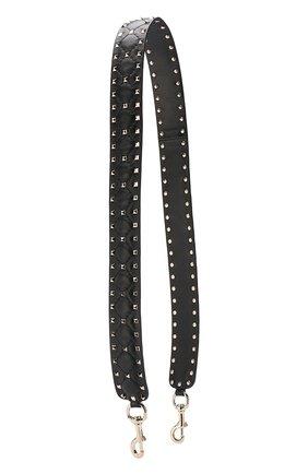 076fac339b2b Кожаный ремень для сумки Valentino Garavani Rockstud Spike | Фото №1