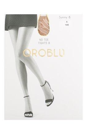 Женские капроновые колготки OROBLU бежевого цвета, арт. V0BC01383 | Фото 1