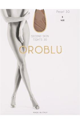 Женские капроновые колготки OROBLU бежевого цвета, арт. V0BC01489 | Фото 1