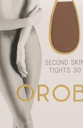 Женские капроновые колготки OROBLU бежевого цвета, арт. V0BC01489 | Фото 2