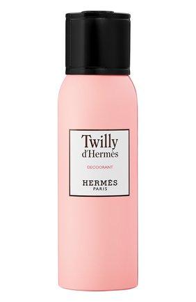 Женский дезодорант спрей twilly d'hermès HERMÈS бесцветного цвета, арт. 36992H | Фото 1