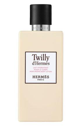 Женского лосьон для тела twilly d'hermès HERMÈS бесцветного цвета, арт. 40078H | Фото 1