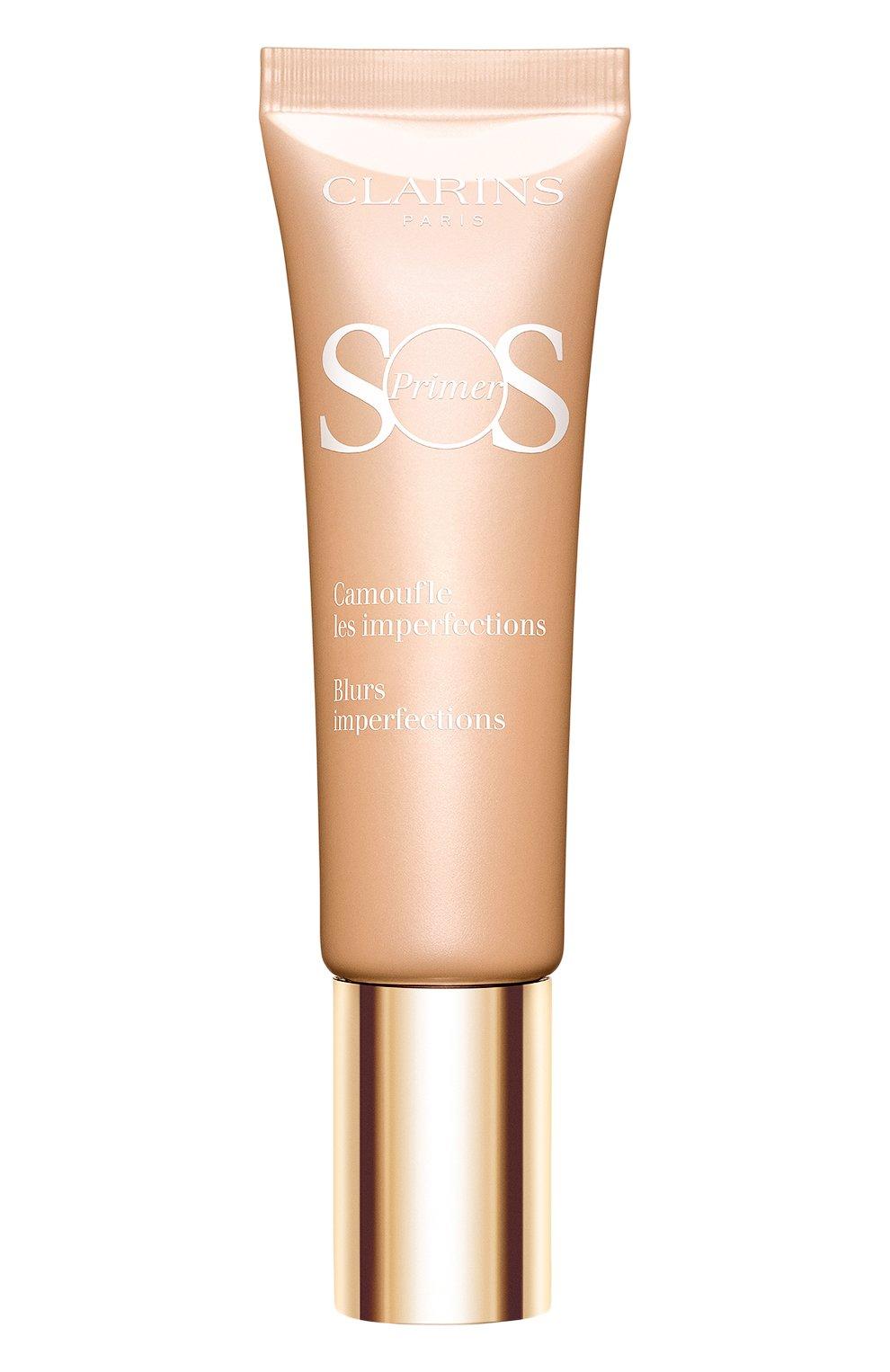 База под макияж для коррекции несовершенств кожи sos primer 02 CLARINS бесцветного цвета, арт. 80032034 | Фото 1 (Статус проверки: Проверена категория)