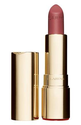 Женская матовая губная помада joli rouge velvet, оттенок 705 CLARINS бесцветного цвета, арт. 80032878 | Фото 1