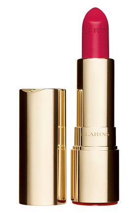 Женская матовая губная помада joli rouge velvet, оттенок 760 CLARINS бесцветного цвета, арт. 80032882 | Фото 1