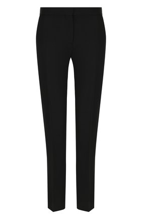 Шерстяные укороченные брюки со стрелками