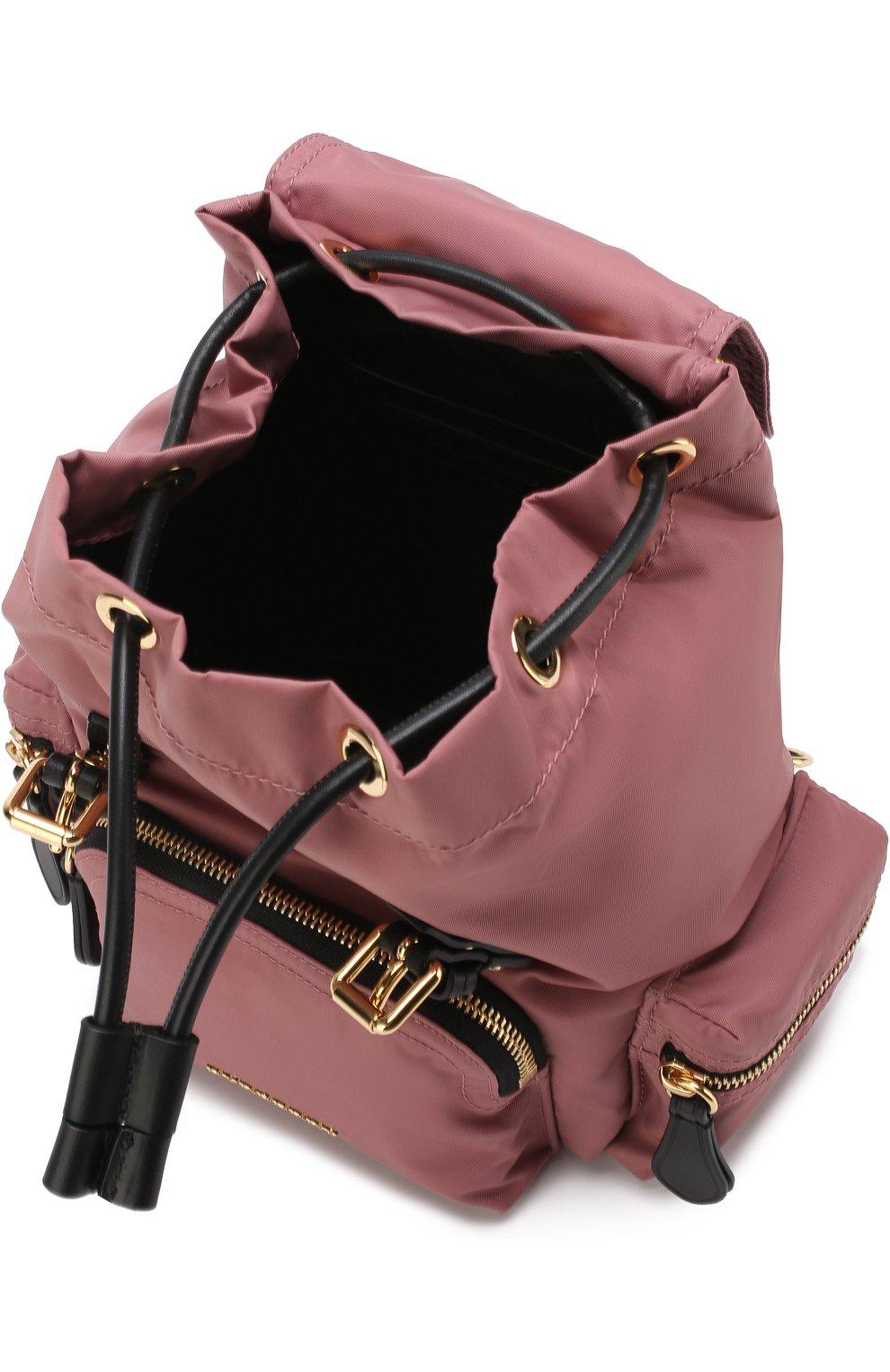 Рюкзак Rucksack small с кожаной отделкой | Фото №4