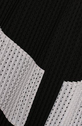 Плиссированная юбка с перфорацией | Фото №3