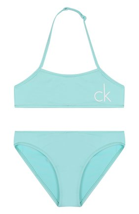 Раздельный купальник с логотипом бренда | Фото №1