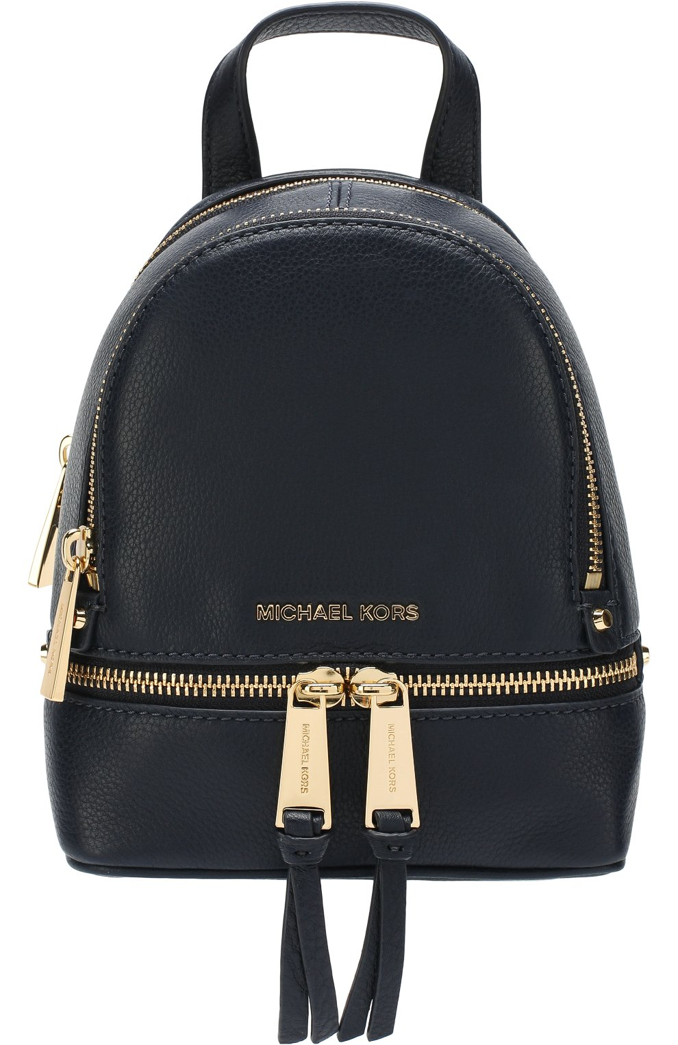 Кожаный рюкзак Rhea Zip XS   Фото №1