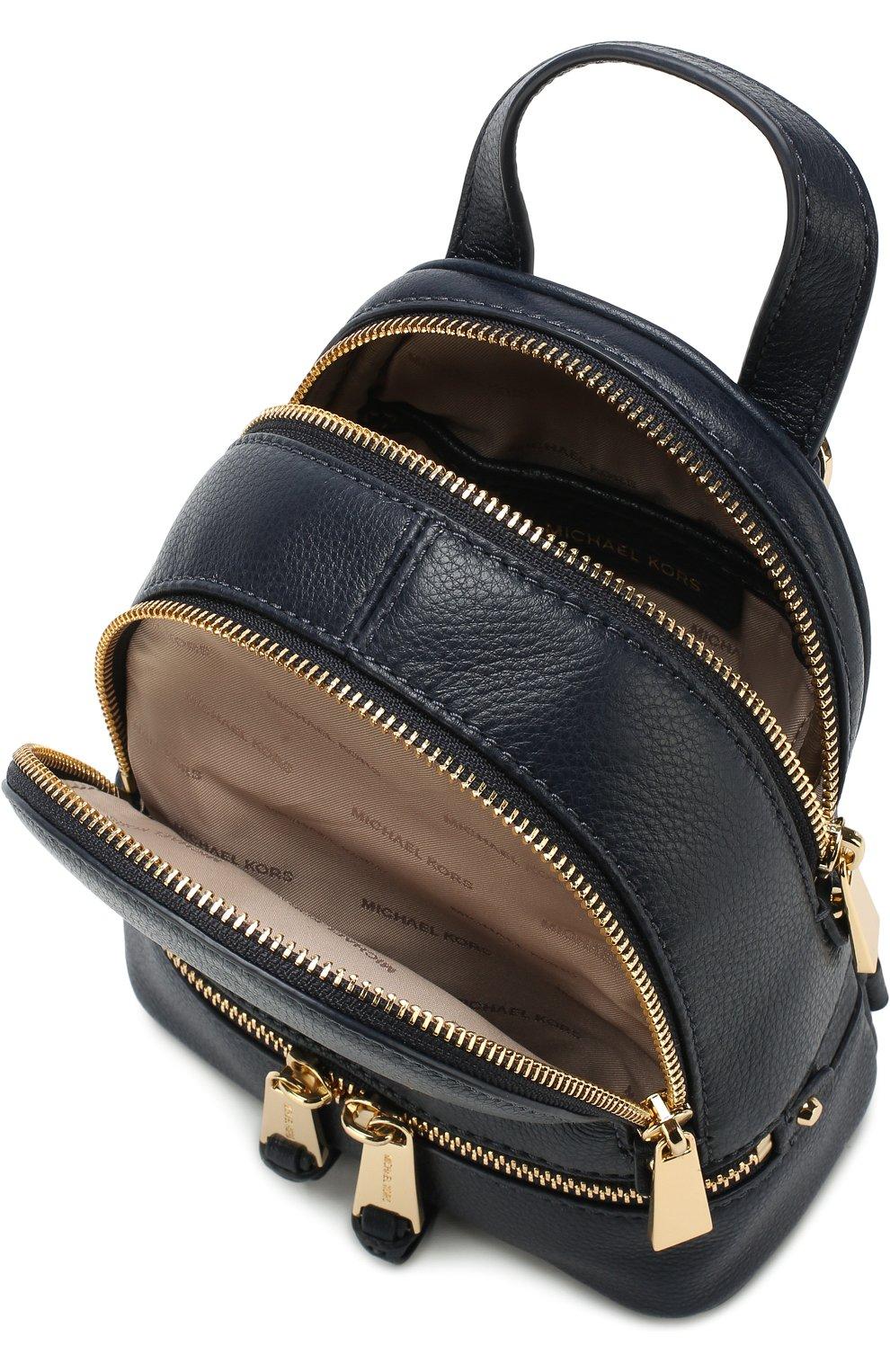 Кожаный рюкзак Rhea Zip XS   Фото №4
