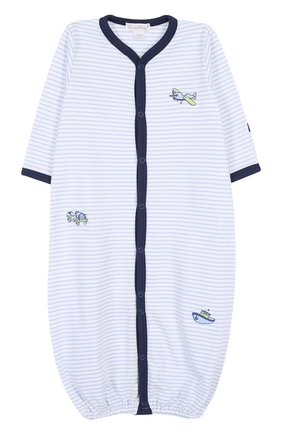 Хлопковая пижама с вышивкой | Фото №1