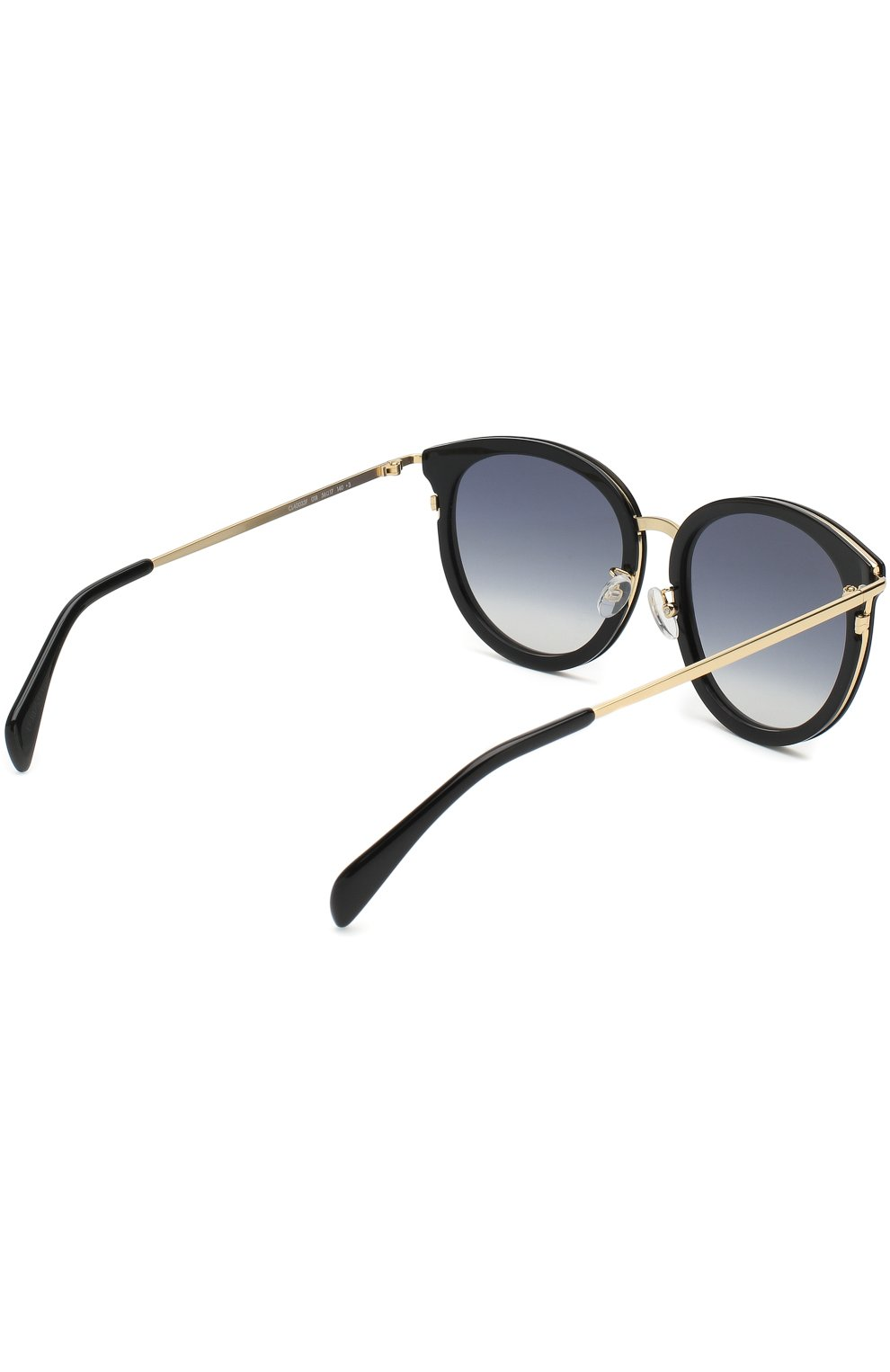 Женские солнцезащитные очки CELINE EYEWEAR черного цвета, арт. CL40033F 01B   Фото 3