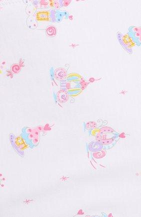 Хлопковая пеленка Kissy Kissy разноцветного цвета | Фото №1