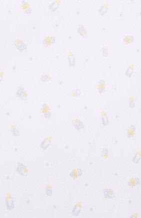 Хлопковое одеяло Kissy Kissy серого цвета | Фото №1