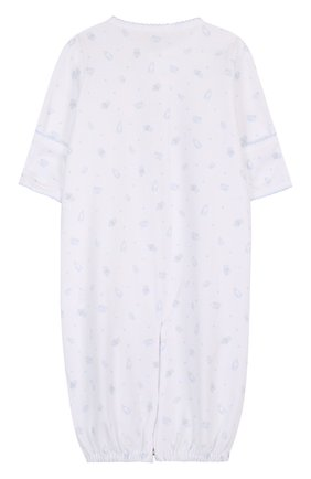 Хлопковая пижама на кнопках с принтом | Фото №2