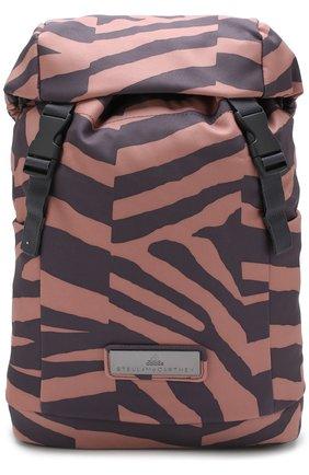 Рюкзак из текстиля с принтом | Фото №1
