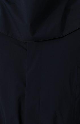 Мужской однобортный плащ на пуговицах с капюшоном NORWEGIAN RAIN темно-синего цвета, арт. SINGLE BREASTED MID/SLW | Фото 5