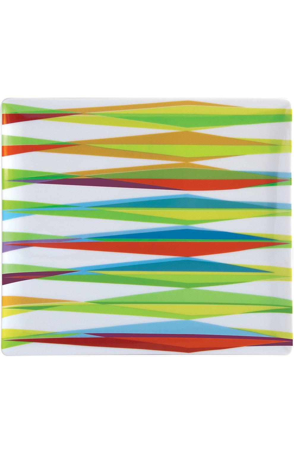 Мужского блюдо прямоугольное ohlala BERNARDAUD разноцветного цвета, арт. 1749/8229 | Фото 1