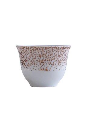 Мужского набор из 6 арабских чашек al nad BERNARDAUD белого цвета, арт. 1761/161-6 | Фото 1