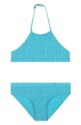 Раздельный купальник с логотипом бренда   Фото №1