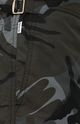 Плавки-шорты с камуфляжным принтом | Фото №5