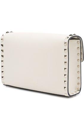 Женская сумка valentino garavani rockstud spike medium VALENTINO белого цвета, арт. PW0B0181/WCI   Фото 3
