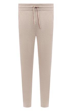 Мужской кашемировые брюки LORO PIANA бежевого цвета, арт. FAG4527   Фото 1