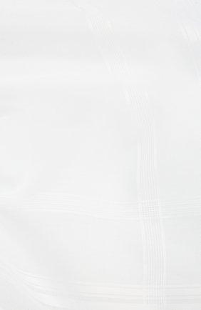 Мужской хлопковый платок SIMONNOT-GODARD белого цвета, арт. RENAISSANCE | Фото 2