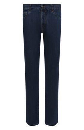 Мужские джинсы CANALI синего цвета, арт. 91700/PD00018 | Фото 1