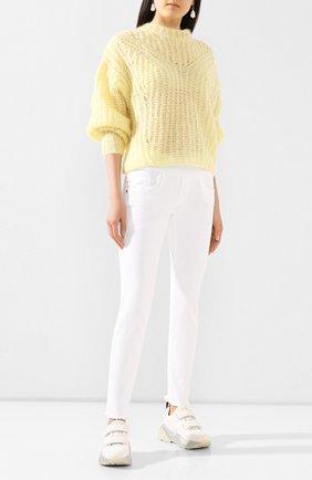 Женские джинсы PIETRO BRUNELLI белого цвета, арт. JP0043/VM/DE0058 | Фото 2