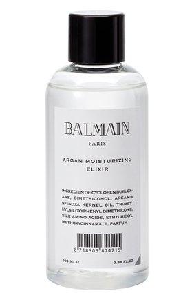 Женского увлажняющий эликсир для волос с аргановым маслом BALMAIN HAIR COUTURE бесцветного цвета, арт. 8718503824215 | Фото 1