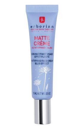 Женское матирующий крем для лица matte crème ERBORIAN бесцветного цвета, арт. 783674 | Фото 1