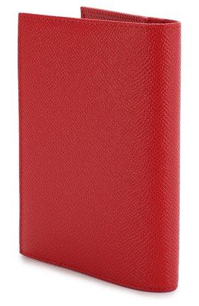 Женские кожаная обложка для паспорта DOLCE & GABBANA красного цвета, арт. BI2215/AU771 | Фото 2