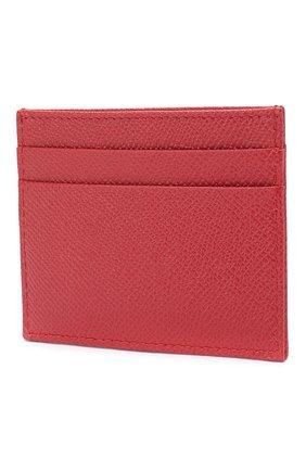 Женский футляр для кредитных карт DOLCE & GABBANA красного цвета, арт. BI0330/AU771 | Фото 2