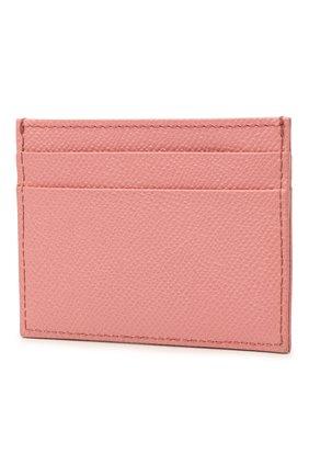 Женский футляр для кредитных карт DOLCE & GABBANA розового цвета, арт. BI0330/AU771 | Фото 2
