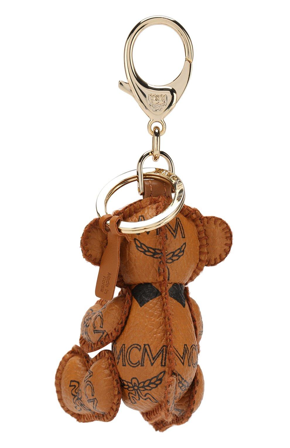Кожаный брелок для ключей с логотипом бренда   Фото №2