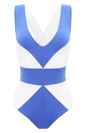 Женский слитный купальник NATAYAKIM голубого цвета, арт. NY-001 | Фото 1