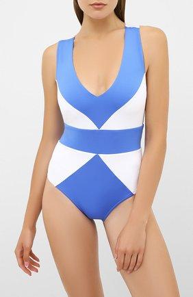 Женский слитный купальник NATAYAKIM голубого цвета, арт. NY-001 | Фото 2