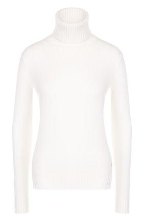 Женская кашемировая водолазка LORO PIANA белого цвета, арт. FAG3537 | Фото 1