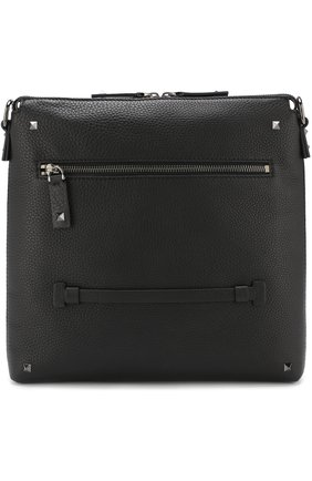 Кожаная сумка-планшет Valentino Garavani Rockrunner  | Фото №1