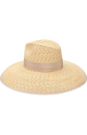 Соломенная шляпа с лентой | Фото №2